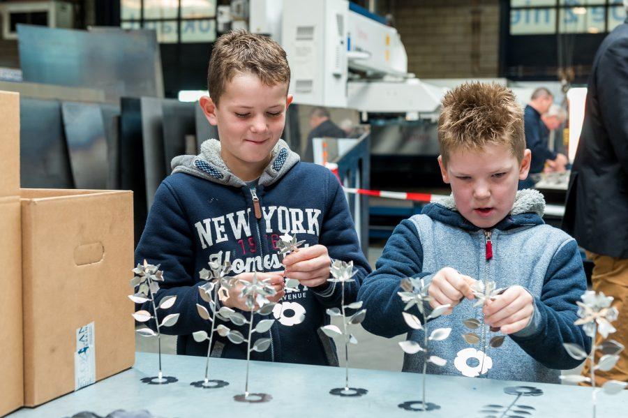 2.000 bezoekers Open Huis Blokland Metaalbewerking